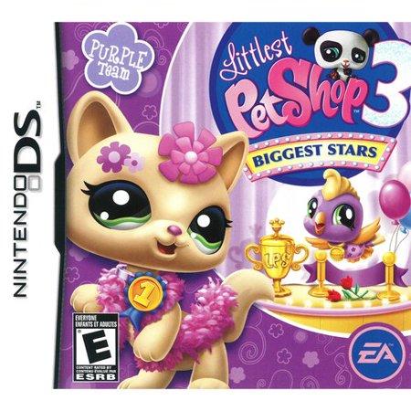 Littlest Pet Shop 3: Biggest Stars - Purple (DS)