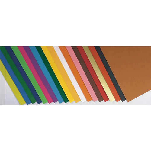 "Fadeless Art Paper, 12"" x 18"", 50 lb, Pack of 60"