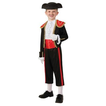 Morris Costume FM74236LG Matador Child Costume, - Child Matador Costume