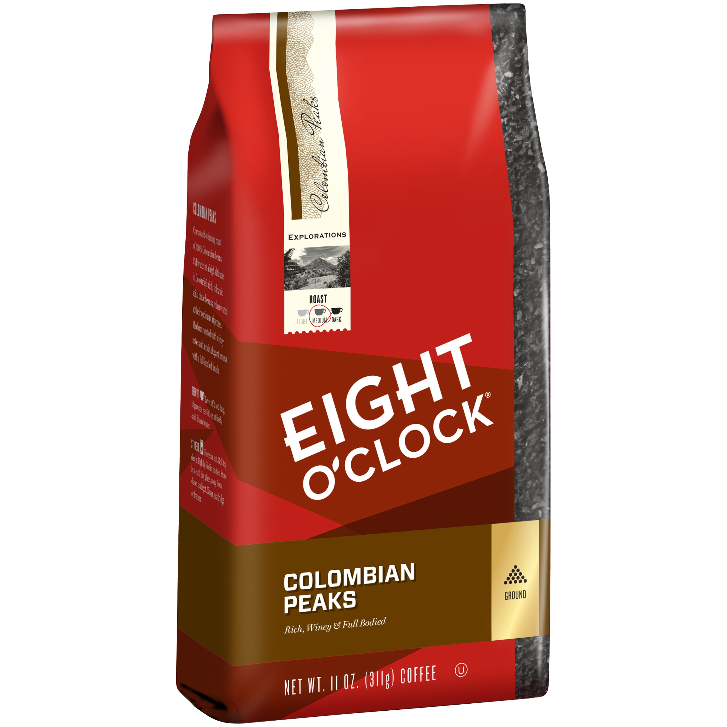 Eight O'Clock® Colombian Peaks Ground Coffee 11 oz. Bag