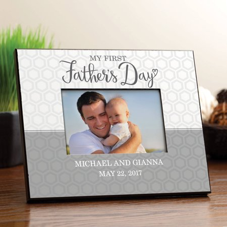 Fathers Day Frames (My First Father's Day Personalized)