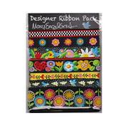 Renaissance Ribbons Designer Pack - Mary Engelbreit, Bluebird Colorway (7 Ribbons, 1yd Each)