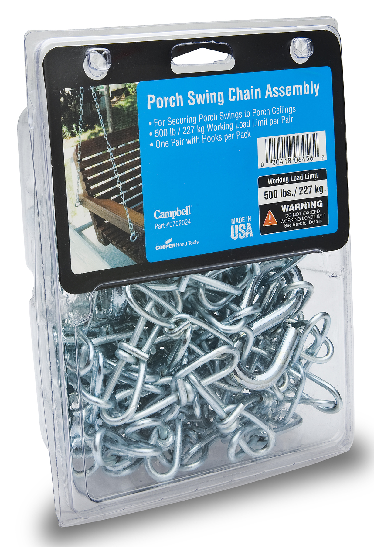 Porch Swing Chain Embly 2 X 7 1