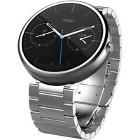 Moto 360 Smart Watch with Stainless Steel Band