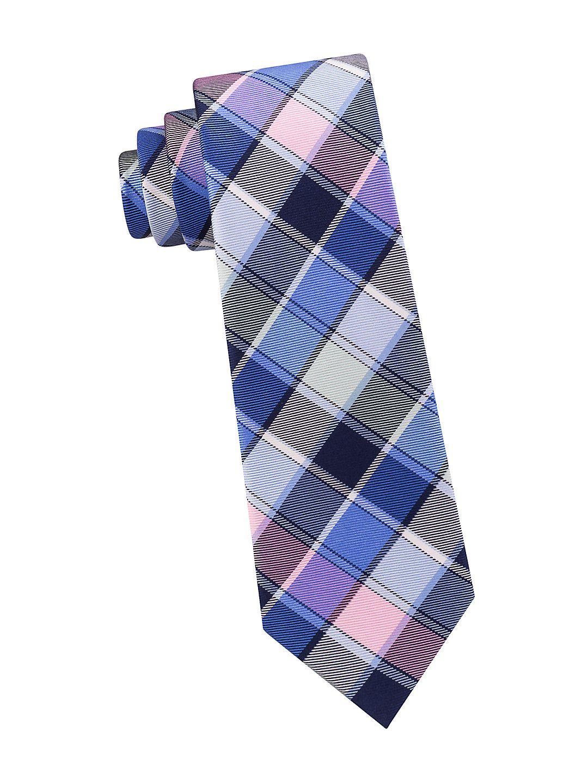 Boy's Multi Plaid Silk Tie