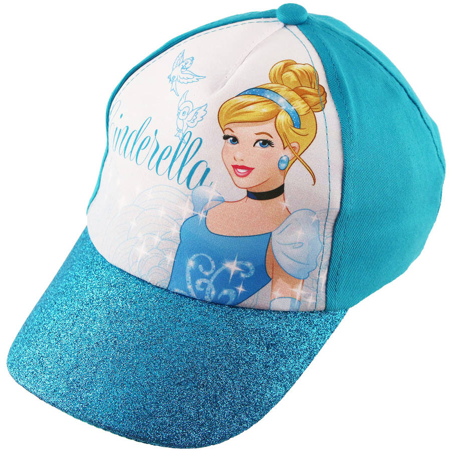 Disney Juniors Frozen Elsa Sublimated Cap with Glitter Brim