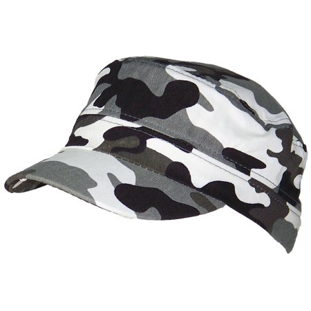 502b6a84 Tropic Hats Little Kids Camouflage Adjustable Military/Cadet Style Cap (One  Size) - City Camo