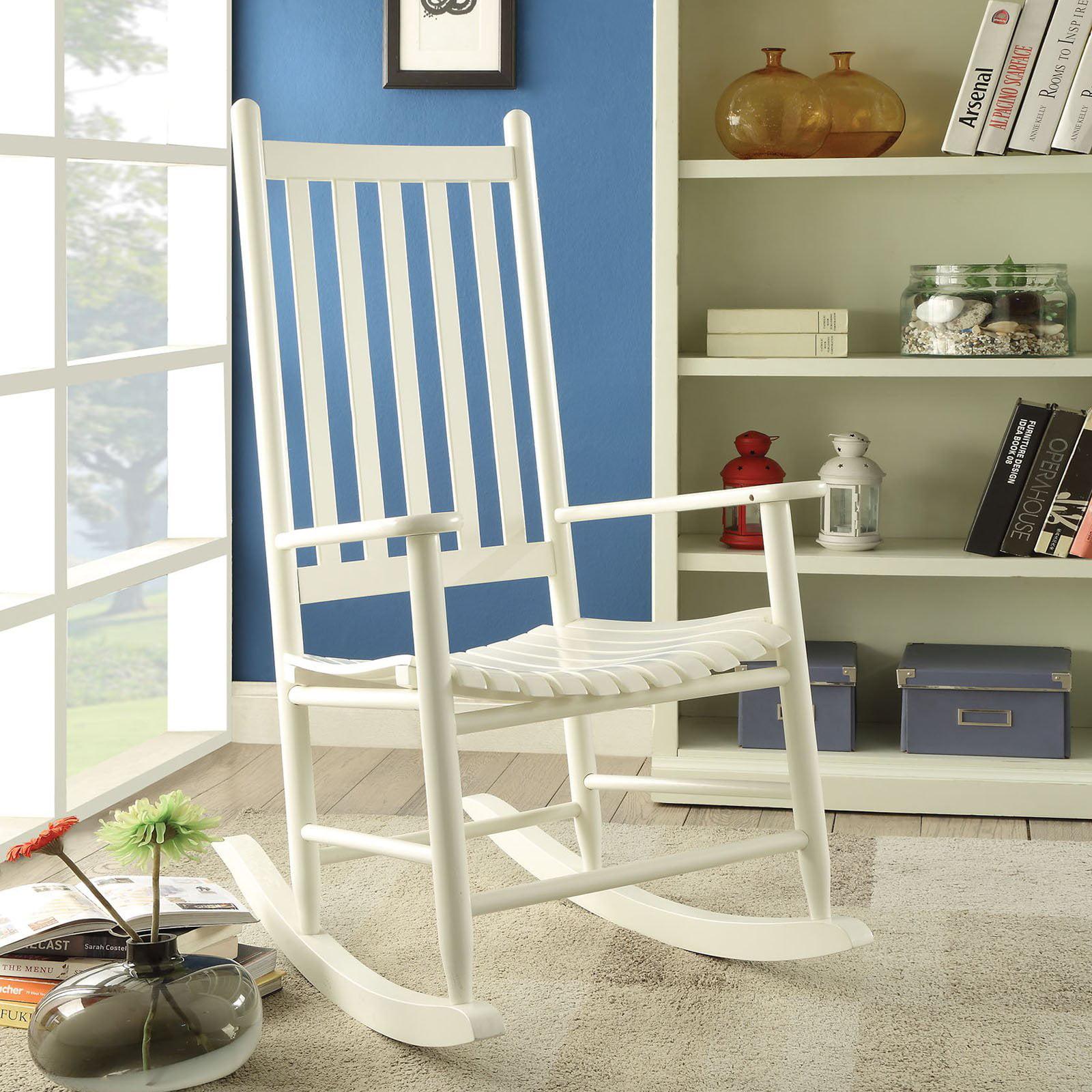 ACME Laik Mission Rocking Chair, Multiple Colors