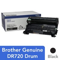 Brother Genuine Drum Unit, DR720, Yields Up to 30,000 Pages, Black