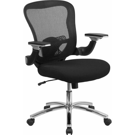Flash Furniture Mid Back Black Mesh Executive Swivel Office Chair