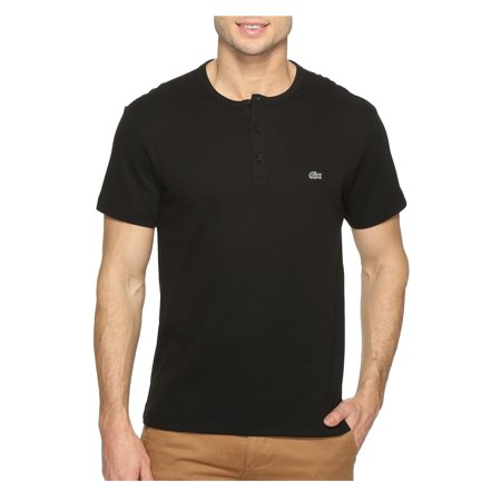 Lacoste Men Pima Cotton Henley Tee Shirt