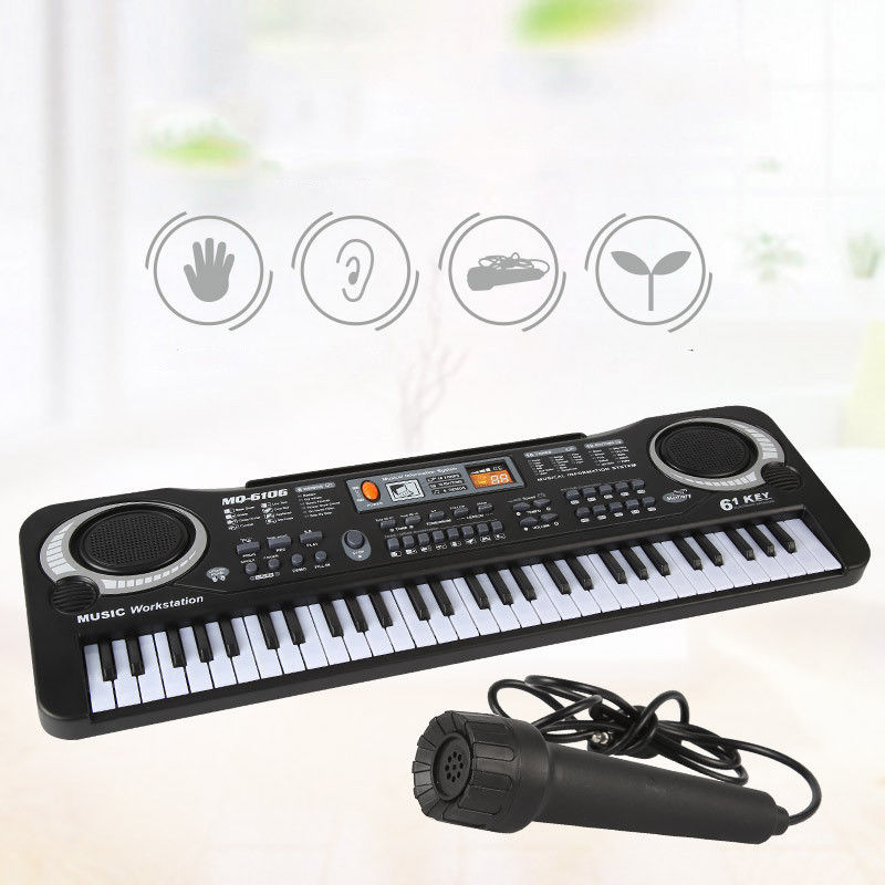61 Keys music piano Music electric piano keyboard For Kids digital keyboard with... by