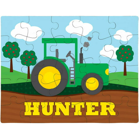 Personalized Tractor Puzzle (Johnny Tractor Puzzle)
