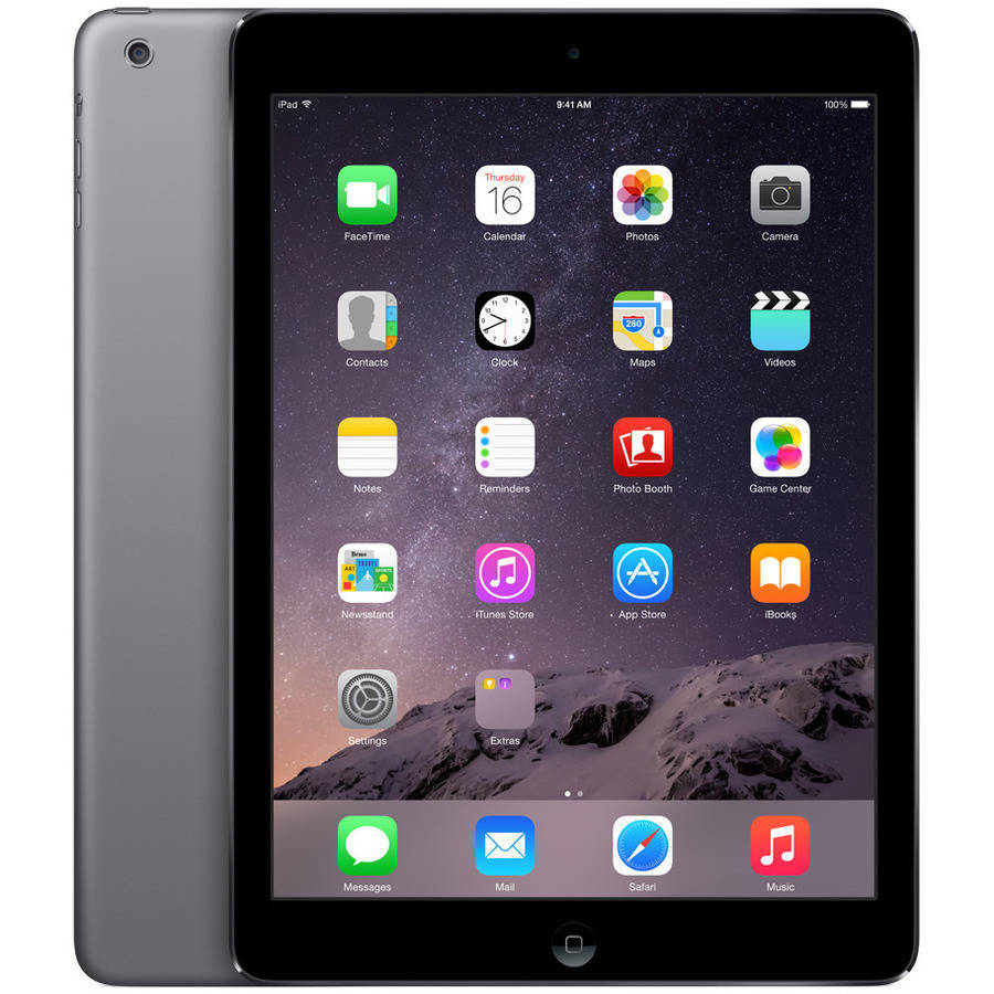 Apple iPadAir 32GB Wi-Fi Space Gray Refurbished