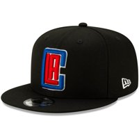 LA Clippers New Era Statement Edition 9FIFTY Adjustable Hat - Black - OSFA