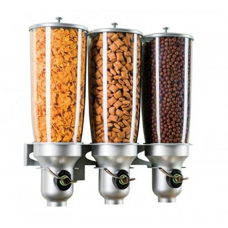 Cal-Mil 507.21 Oz. Triple Cylinder Cereal Dispenser (Cereal Dispenser Triple)