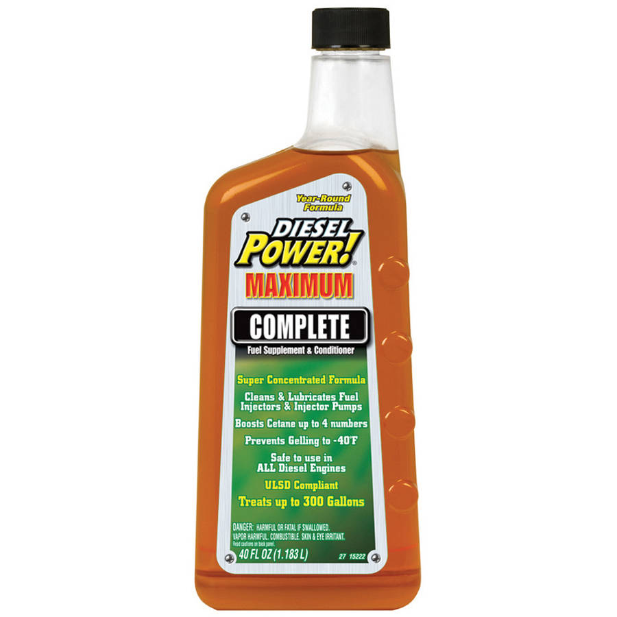 Diesel Power! (15222) Complete Fuel Supplement and Conditioner, 40 oz