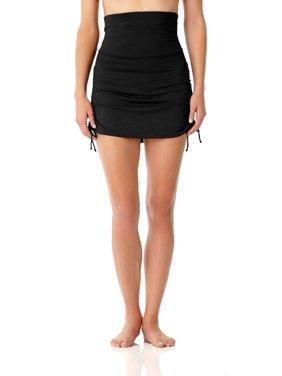 Anne Cole Signature Womens Live In Color High-Waist Skirted Bikini Bottom Style-19MB41701
