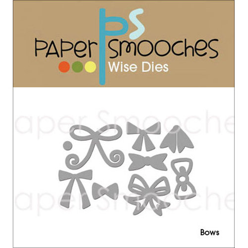 Paper Smooches Die, Bows