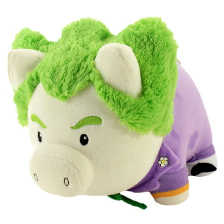 DC Comics Justice League's Joker Soft Piggy Thrifter | Soft and Plush Collectible Batman Bank | 9.5