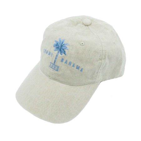 Tommy Bahama Men's Washed 100% Cotton Khaki Palm Ball Cap