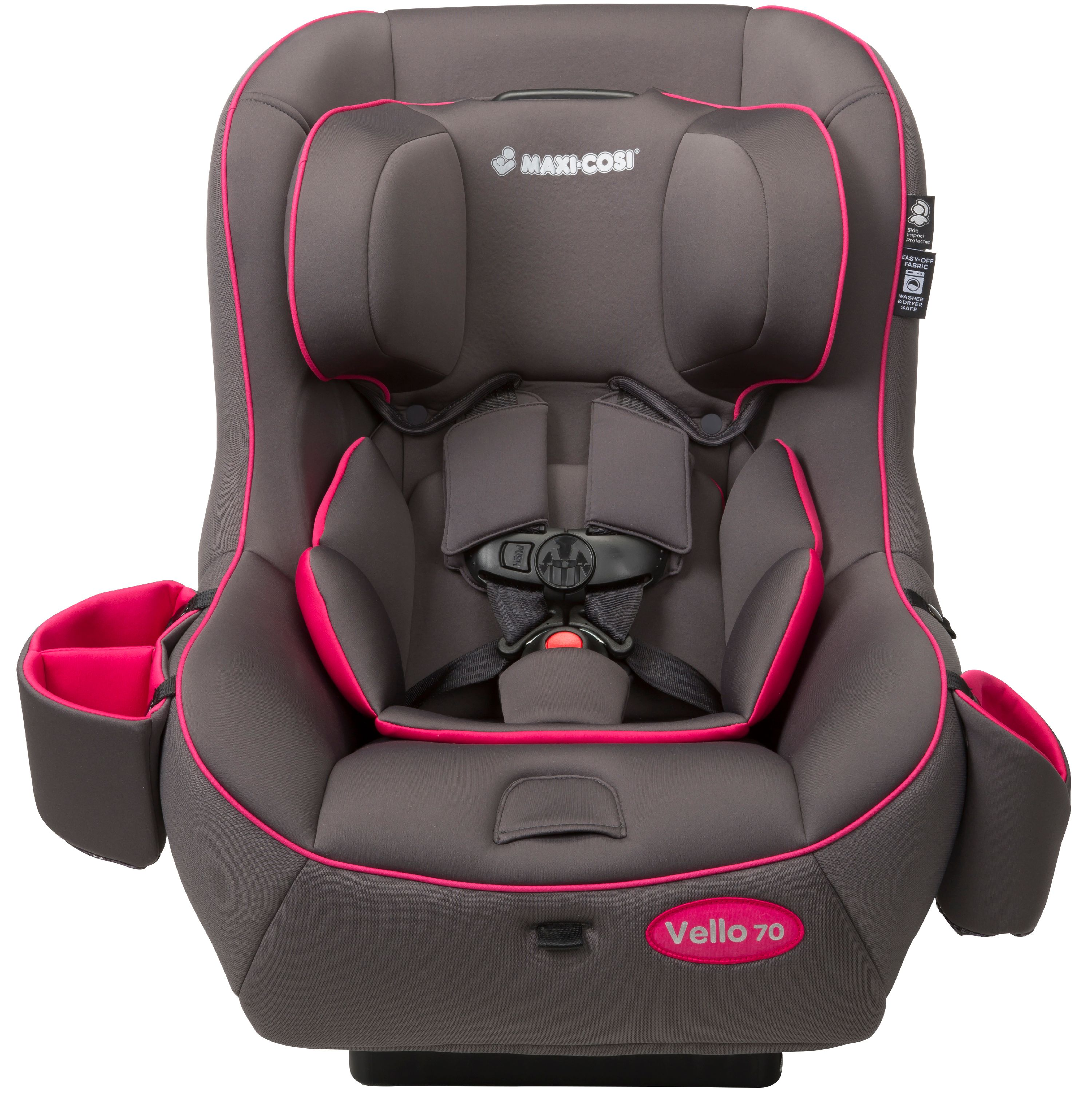 Maxi Cosi Vello 70 Convertible Car Seat, Gray & Pink