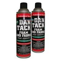 2 x Dan Tack 2012 Foam & Fabric Spray Adhesive or Glue Can 12 oz (2/pack)