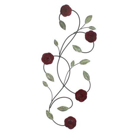 fetco home decor pomeroy roses wall art. Black Bedroom Furniture Sets. Home Design Ideas