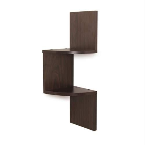 Danya B  QBA671  Wall Decor  Home Decor  Shelves  ;Dark Wood