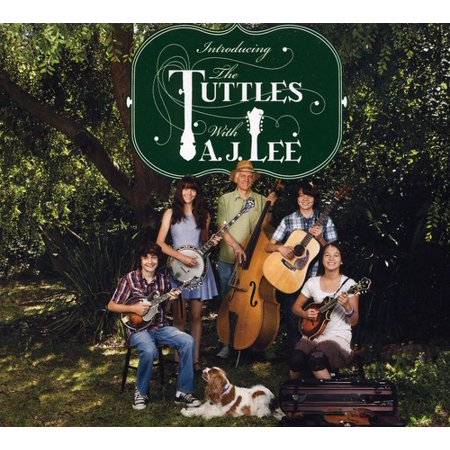 Tuttles With Aj Lee   Introducing The Tuttles With Aj Lee  Cd
