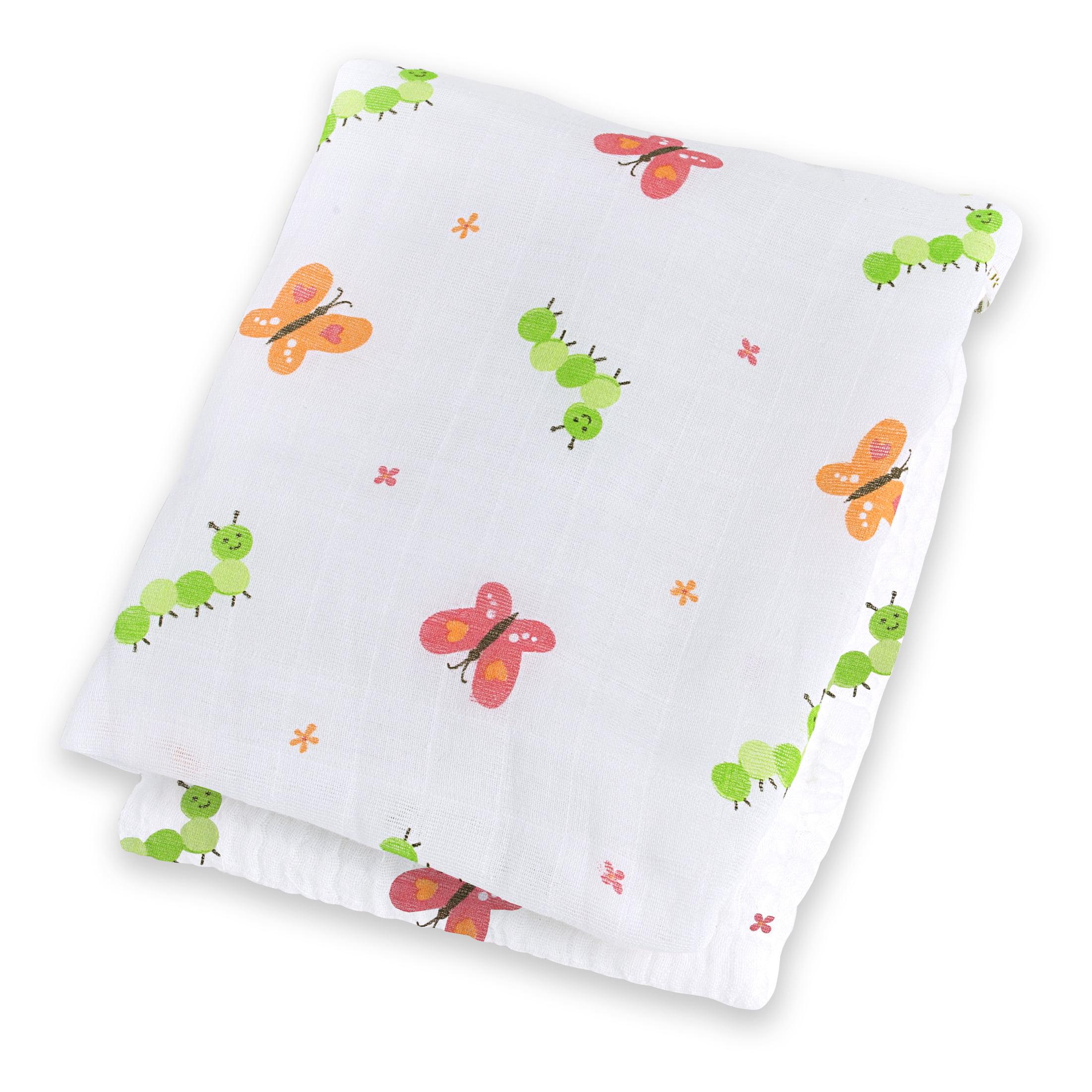 Lulujo Cotton Blanket - Garden Party