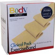 Body Sport Exercise Bands 50-Yd. Rolls