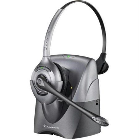 Plantronics CS351n Monaural Wireless Office Headset System for Telephone (Certified (Handset Telephone System)