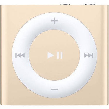 Refurbished Арple іРod Shuffle 4th Generation 2GB MP3 Player Gold MKM92LL/A