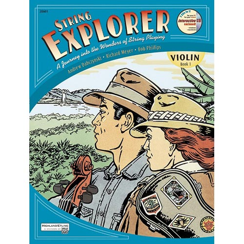 String Explorer: Violin Book 1