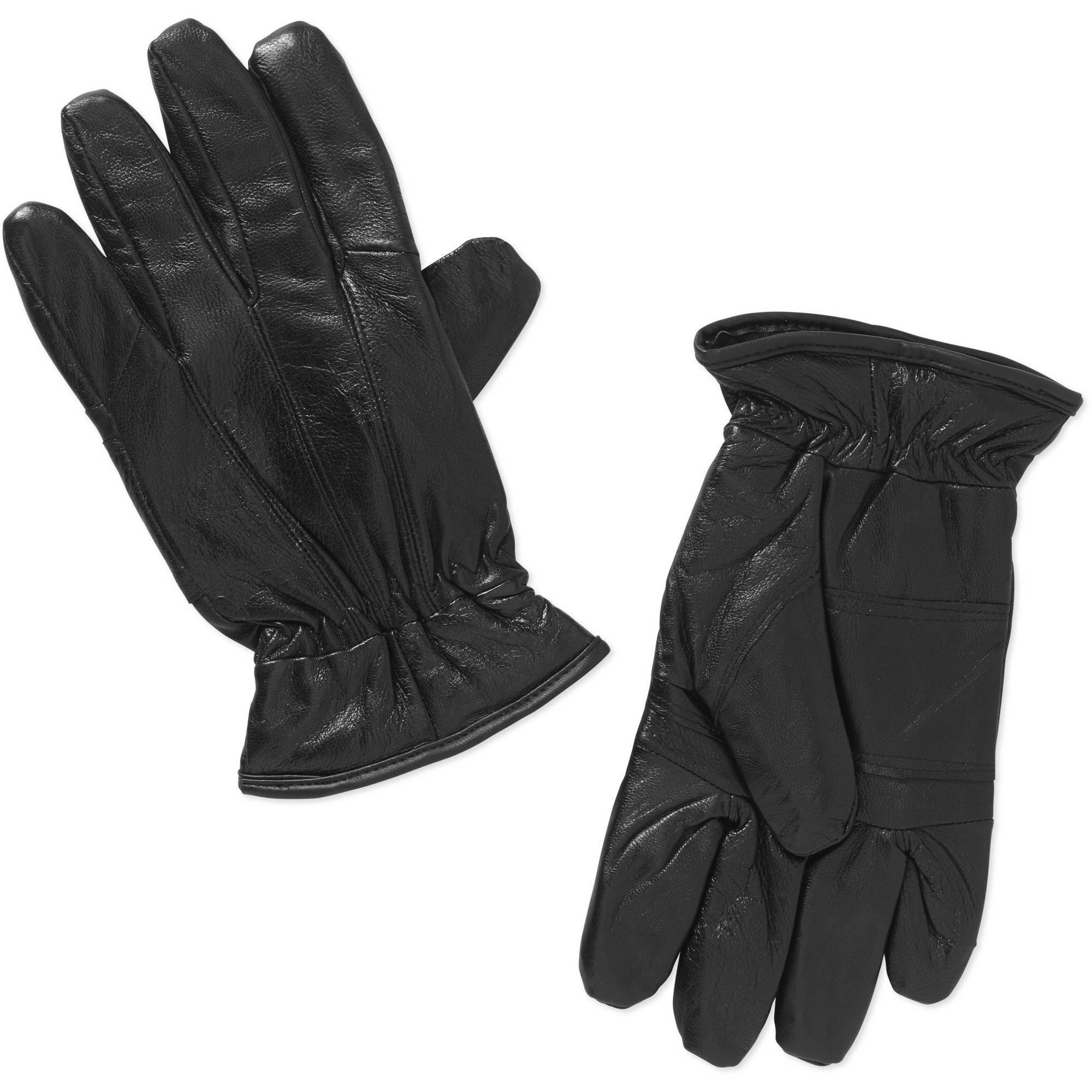 Mens black leather gloves xl - Mens Black Leather Gloves Xl 51