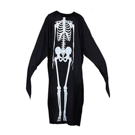Skeleton Robe Halloween Costume by Shape - Halloween Usa Holland Mi