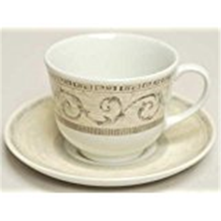 Johnson Brothers Acanthus Cream Tea Saucer (only 2 left)