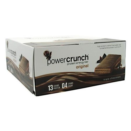 Power Crunch Protein Energy Bar Original Triple Chocolate   12 Ct