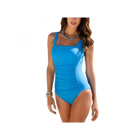 JLONG Womens Summer Sleeveless Slim Swimsuit Plus Size for Beach - Cute Swimsuits For Tweens