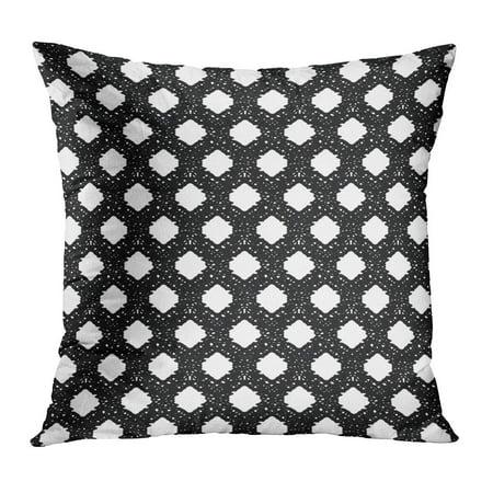 Crochet Pillow Covers (ECCOT Knit Athletic Mesh Sport Open Crochet Spandex Stitch PillowCase Pillow Cover 18x18 inch)