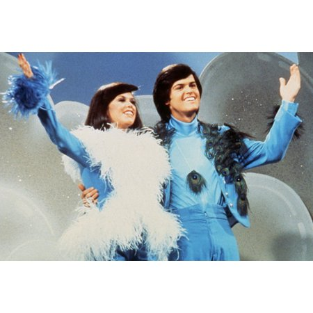 Donny Osmond, Marie Osmond Donny and Marie Blue Outfits TV Show 24X36 Poster ()