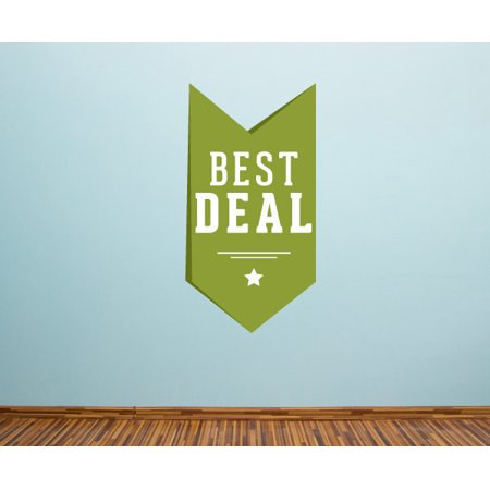 Best Deal Ribbon Banner Wall Decal   Vinyl Decal   Car Decal   Idcolor033   25 Inches