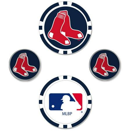 Boston Red Sox Ball Marker Set - No Size (Sox Ball)