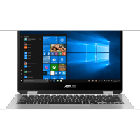 "Refurbished Asus Vivobook Flip Laptop 11.6"" Ultra Slim, 4GB RAM, 64GB, Intel N3350, Windows 10 Home J202NA-DH01T"