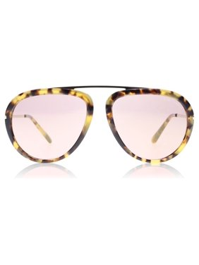 0f6f1e1e993 Product Image Tom Ford Women s Mirrored Stacy FT0452-53Z-57 Brown Aviator  Sunglasses