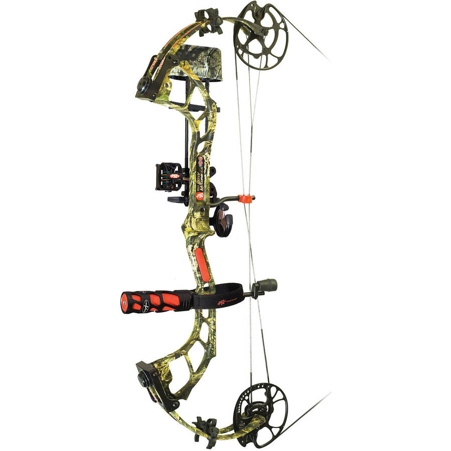"PSE Bow Madness 32 RTS Package, Mossy Oak Country, 24-30"", 60 Lbs, RH"