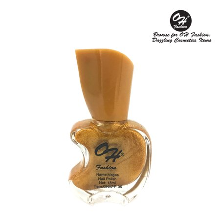 (4 Pack) OH FASHION Nail Polish Apple Bottle Vegas, manicure, beauty, nails 1