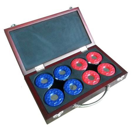 Hathaway Games 9 Piece Shuffleboard Puck Set