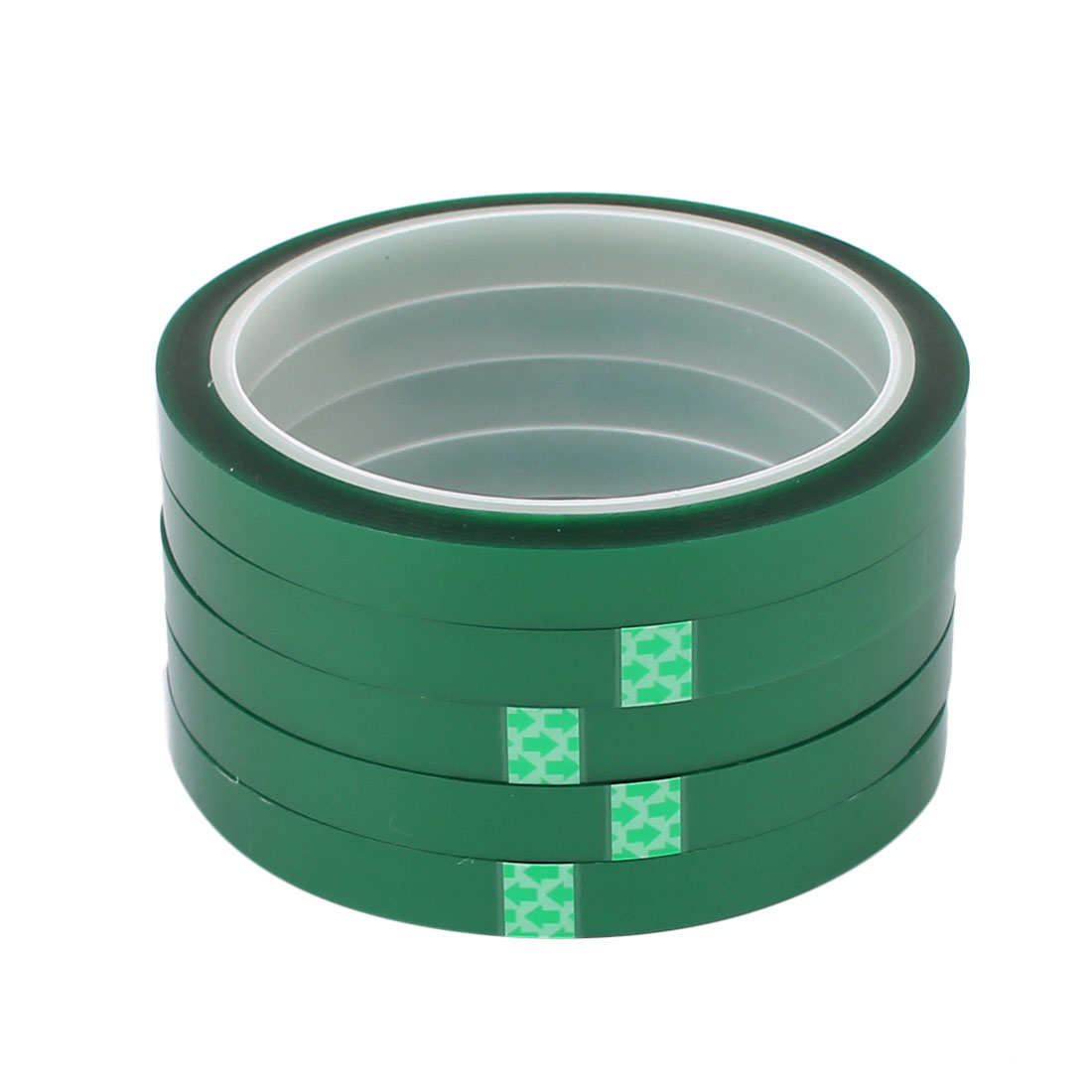 5Pcs 10mm Width 33M Length PET Adhesive Tape High Temp Heat Resistant Solder
